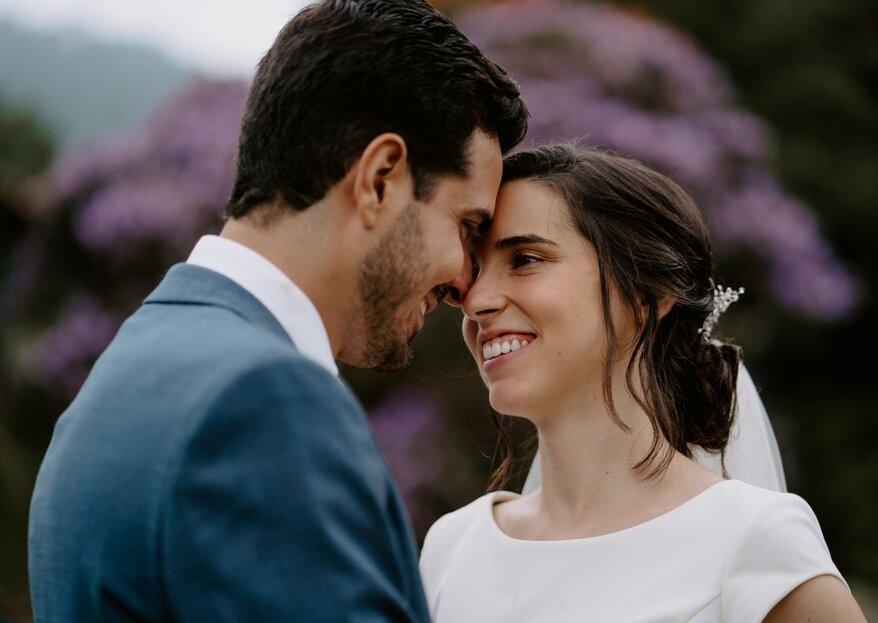 Kelly e João: casamento lindo na fazenda com decoração da Flor Brasileira e os noivos rodeados das pessoas mais importantes da vida deles