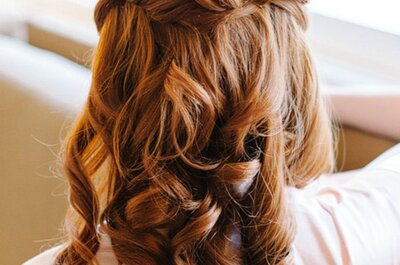 Best Wedding Hairstyles: Dare with loose hair!