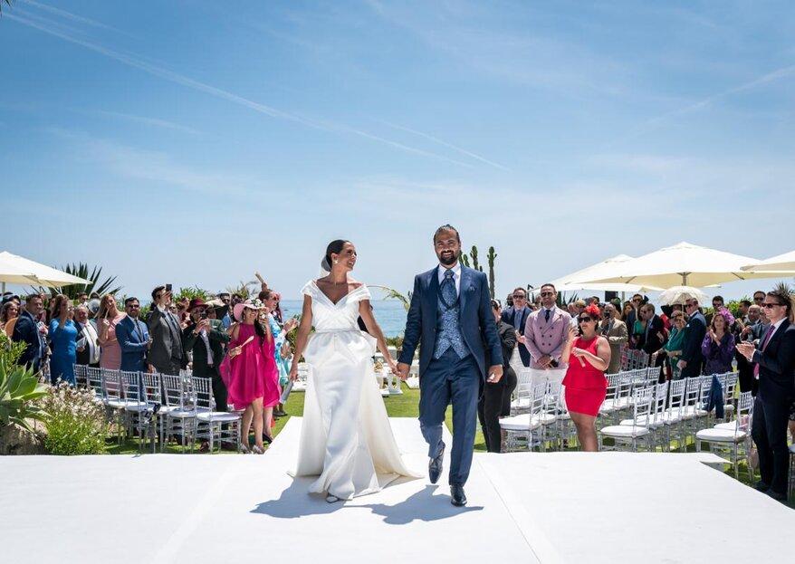 Una gran piña familiar: la boda de Vanessa y Abbas