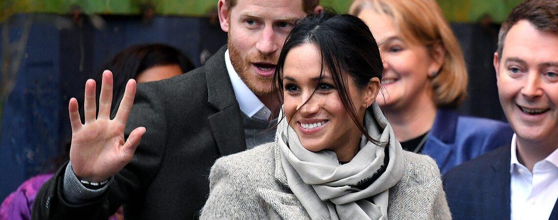 Prince Harry and Meghan Markle visit youth-orientated radio station, Reprezent FM, in Brixton, London to learn about its work supporting young people. Picture Credit Should Read: Doug Peters/EMPICS Entertainment  El Principe Harry y Meghan visitan Radio  /cordon press