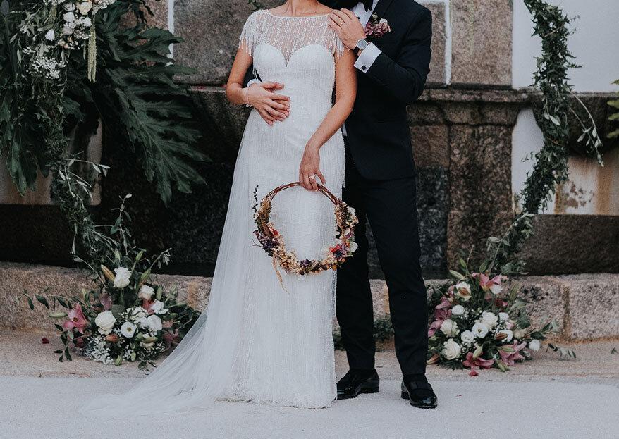 """A PAJARITA: a magia de um casamento inigualável organizado com um """"traço"""" firme!"""