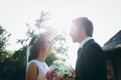 Un amor de verano para siempre: la boda de Raquel y Javier