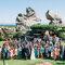 Imagen de boda realizada con dron.