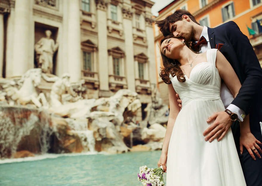 Your Dream Destination Wedding In Rome, Planned To Perfection