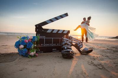 Video para matrimonios: los 10 mejores videastas en Santiago. ¡Haz de tu boda una película!