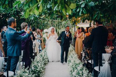 5 cosas que las novias olvidan hacer en la ceremonia religiosa: ¡Aguas!