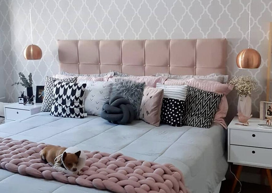 Aliando conforto e beleza: ideias de cabeceiras encantadoras para o quarto de casal