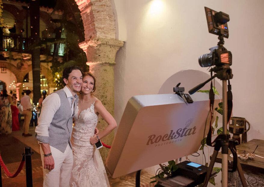 RockStar Photobooth: la mejor cabina de fotos para tu matrimonio