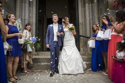 Valérie & Eric : Un mariage breton grandiose et une cérémonie du sable pour sceller leur amour