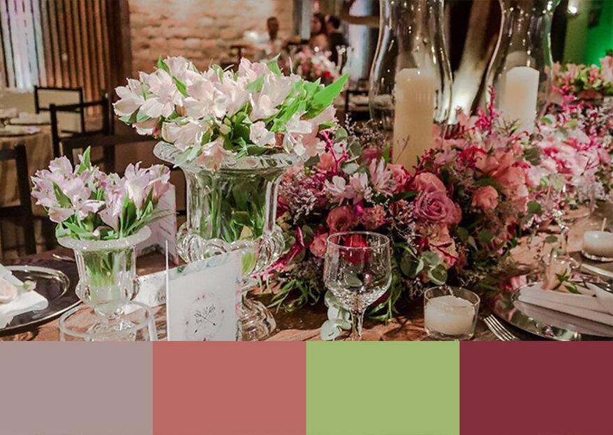 Escolhendo as cores da decoração do seu casamento: quais são as mais apropriadas?