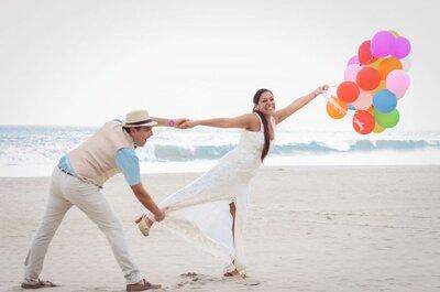 60 pensamientos graciosos que tienen los niños sobre lo que es una boda