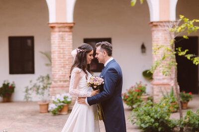 Qué bonito sentir que estás aquí: la boda de Rocío y Luciano