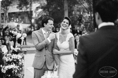 Casamento DIY no haras de Cláudia e Rafael: vintage e mega romântico!