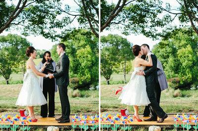 La foto de la semana: una boda campestre en Australia