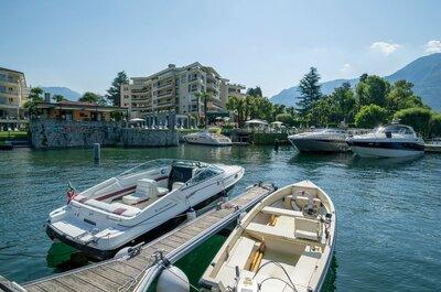 Das Hotel Eden Roc Ascona - Paradiesisch und mediterran Hochzeit feiern!