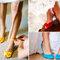 Sapatos coloridos. Foto: Dayli Wedshare