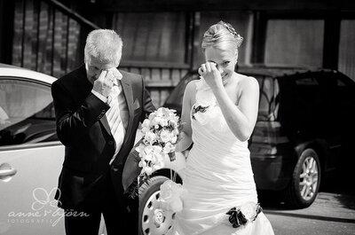 Jour de bonheur pour le père de la mariée