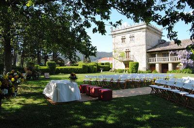 Los mejores 9 pazos para bodas de Pontevedra
