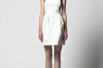 Brautkleider aus Berlin - Die neue Brautkleider Kollektion 2013 von Kisui