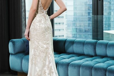 Gold & Silver: Chic luminosity for your bridal gown