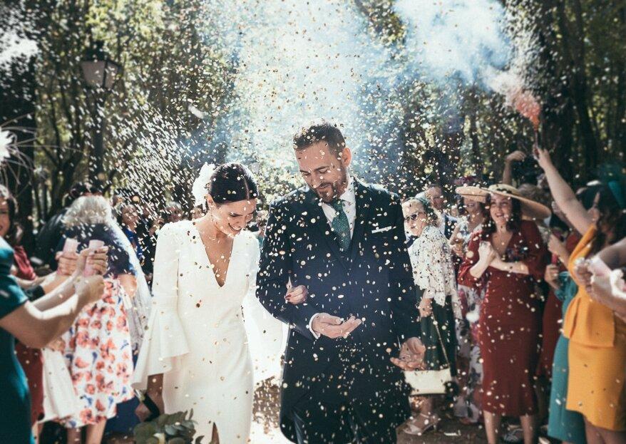 Un reportaje natural y elegante: la boda de Sheila y Balta