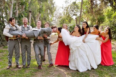 ¿Cómo organizar el cortejo nupcial de tu boda?