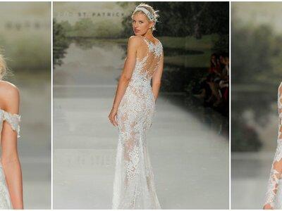 Así es la nueva colección de vestidos de novia St. Patrick 2018: ¡Modelos que te inspirarán!