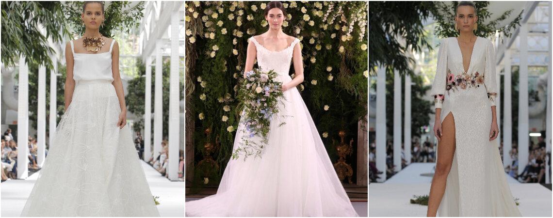 Los 100 vestidos de novia 2019 más asombrosos. ¡Te cautivarán!