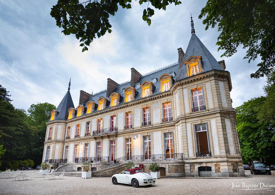 Château de Santeny : un lieu de réception de prestige aux portes de Paris