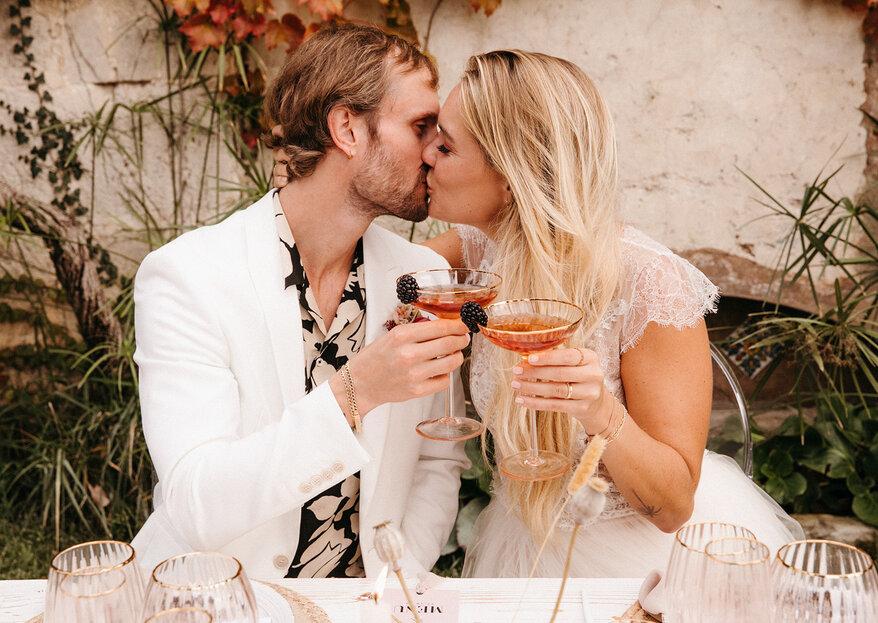 Inspiración y estilo: la boda soñada de Schu y Max