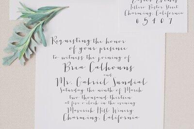 Die TOP 10 Hochzeitstrends für Ihre Trauung 2016
