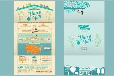 Inviti di nozze: le novità per il 2013