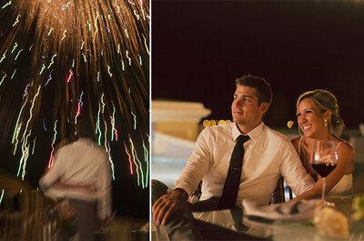 La playa de Mazatlán, el escenario perfecto para una Real Wedding muy original