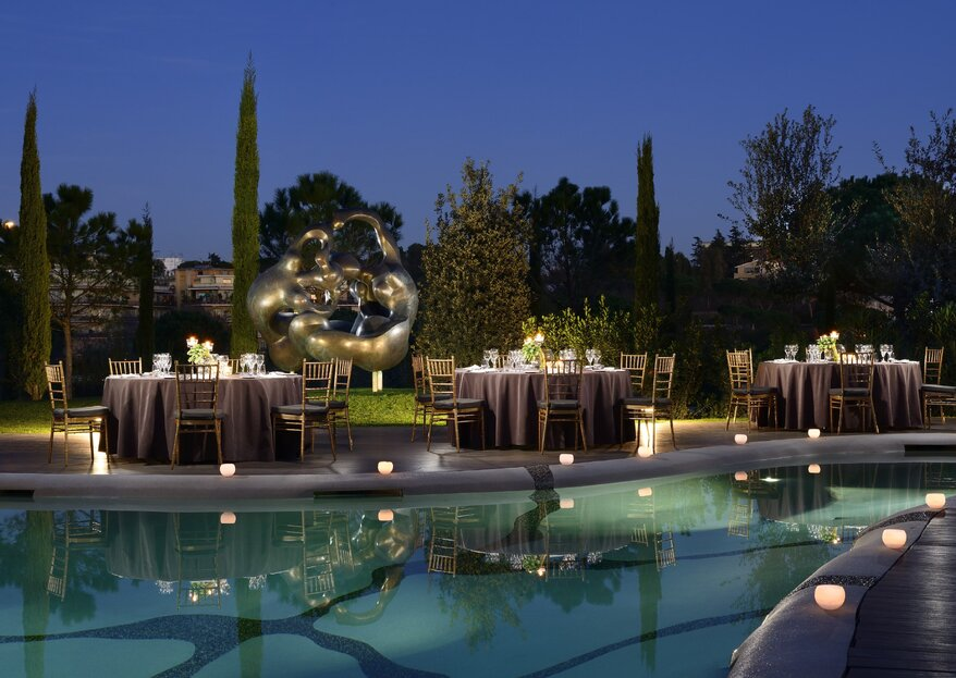 Open-Air Weddings: Discover The A.Roma Lifestyle Hotel