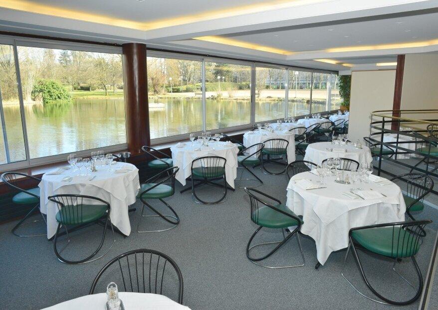 Restaurant Les Chanteraines : un lieu de réception verdoyant et dépaysant aux portes de Paris