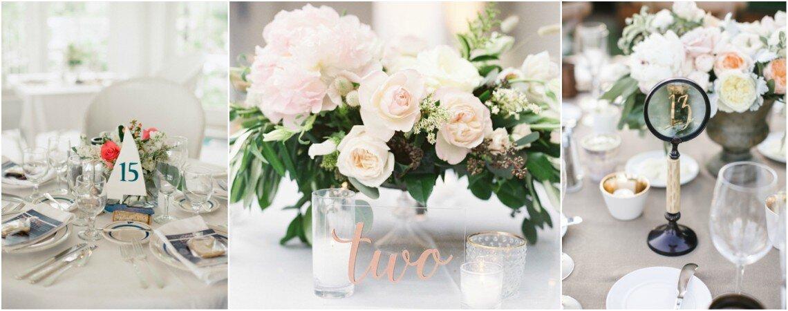 Die Tischnummern bei der Hochzeit – Darum dürfen Lettering, Farben & Blumen nicht fehlen