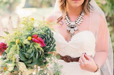 Cómo elegir tu vestido de novia para una ceremonia civil. ¡Siete tips infalibles!