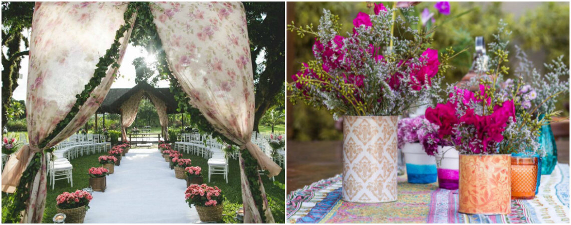 Decoração de casamento com estampas: para todos os gostos e estilos!