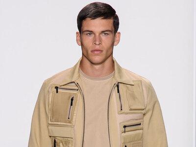 Calvin Klein's menswear collection for Spring 2016 Runway Show
