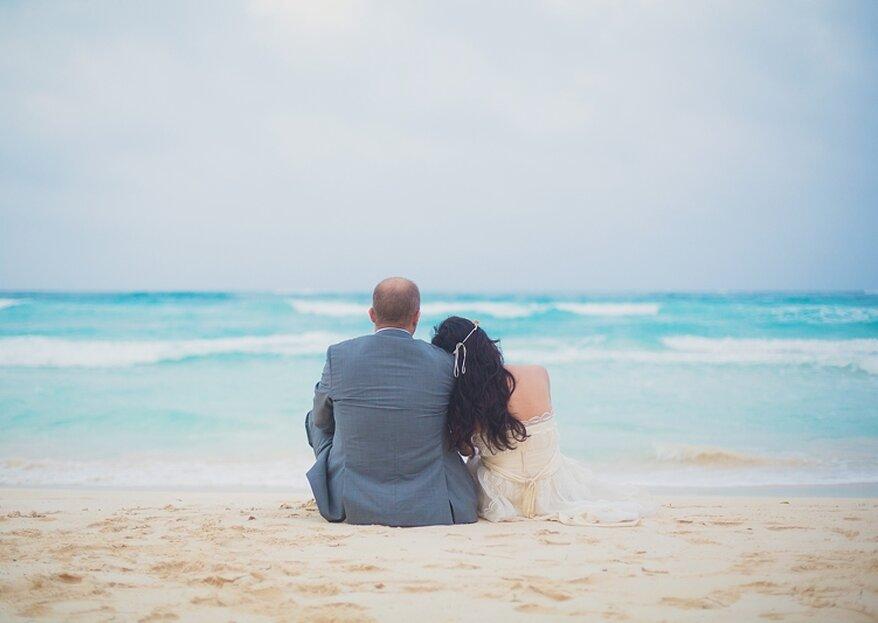 Cómo casarse en la playa en 5 pasos