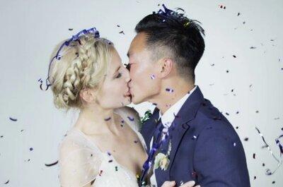 Un video de boda, en 'slow-motion'
