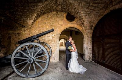 Real Wedding: Eine kanadische Hochzeit auf Schloss Langenburg