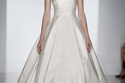 Amsale 2014 : des robes de mariée modernes et éternelles