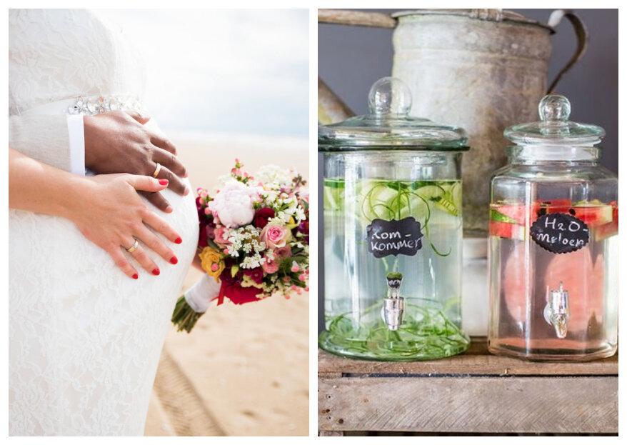 Zwanger trouwen: tips over het organiseren van de bruiloft als je zwanger bent