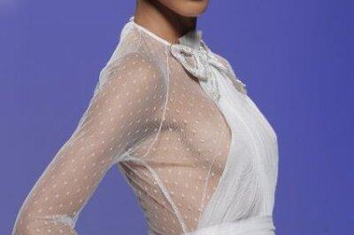 Das neue Must-have: Langarm-Brautkleider für 2015!