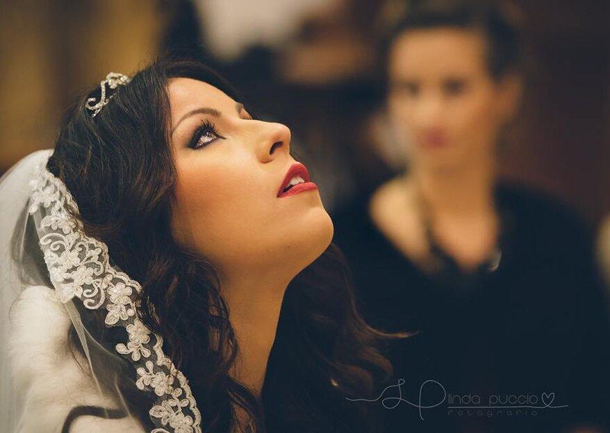 La bellezza della semplicità: ecco la sposa con i capelli sciolti