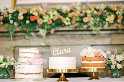 5 gute Ideen für die Dekoration eines Naked Cake! Kreative Hochzeitstorten leicht gemacht