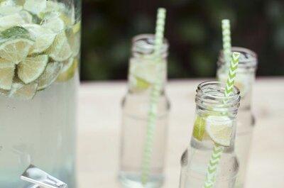 7 boissons rafraîchissantes et originales à servir à votre mariage en 2017