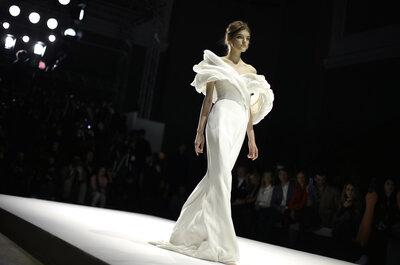 Парижская неделя моды: модные свадебные тенденции 2015