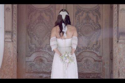 ¡5 tomas que harán mágico tu video de boda!